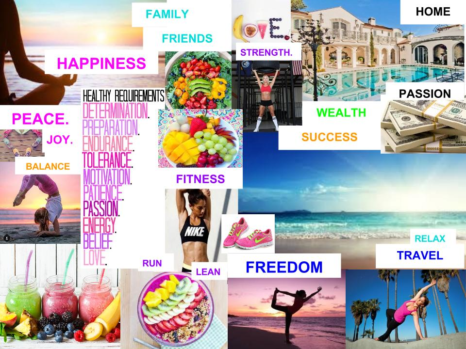 Why You Need A Vision Board + How To Create It