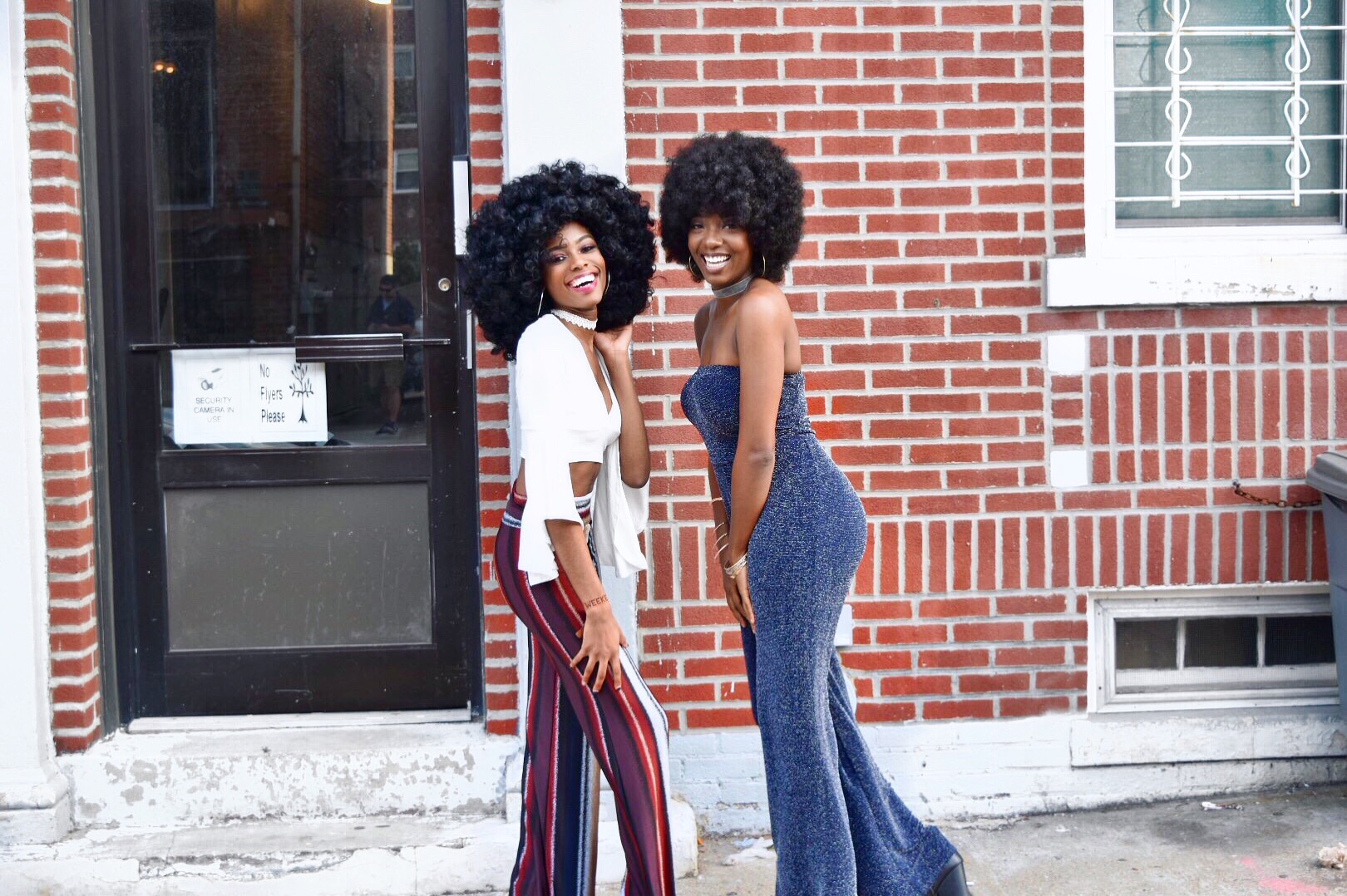 70's Black Fashion Inspired Lookbook: Flare Pants And Afro